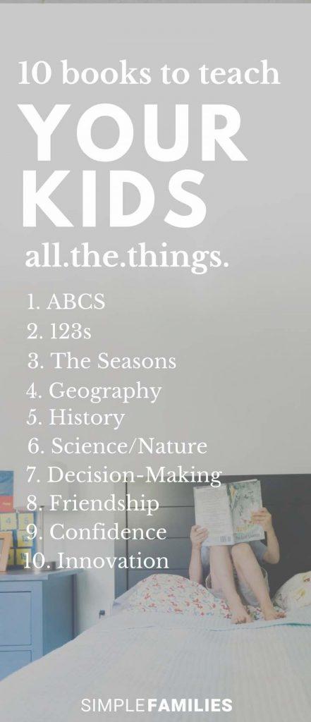 books that teach kids